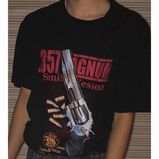 半袖tシャツ ピストル 古着(Tシャツ/カットソー(半袖/袖なし))