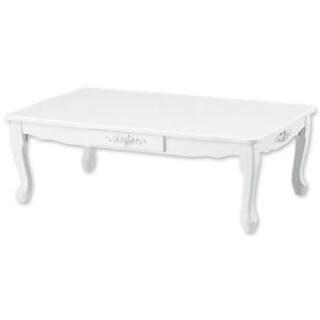 折れ脚猫足テーブル/折りたたみローテーブル 【長方形 大】 幅100cm 木製(ローテーブル)
