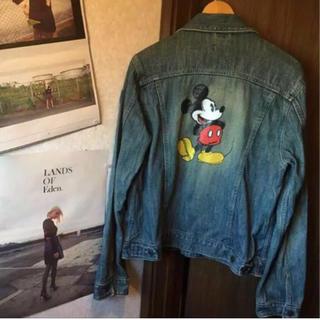 ディズニー(Disney)のミッキー ジージャン(Gジャン/デニムジャケット)