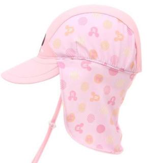 Disney - 即購入OK! ミニー スイムキャップ プール 帽子 キッズ  女の子 UVカット