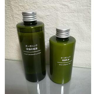 ムジルシリョウヒン(MUJI (無印良品))のオーガニック 保湿化粧液/ 保湿乳液 2点(化粧水 / ローション)