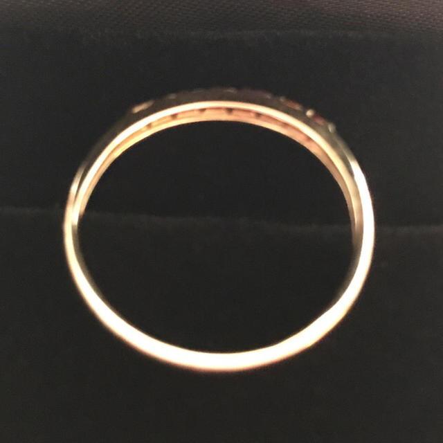 アミュレットリング K10 YG 天然石 レディースのアクセサリー(リング(指輪))の商品写真