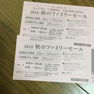 マリメッコ(marimekko)のルックファミリーセール 2枚セット(その他)