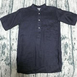 ギャップ(GAP)のGap  リネンシャツ(シャツ/ブラウス(半袖/袖なし))