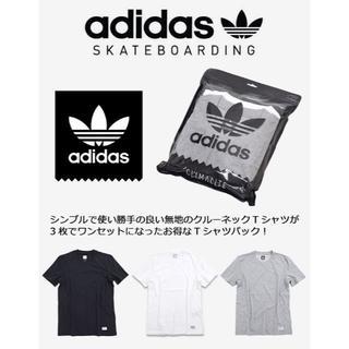 アディダス(adidas)のアディダスオリジナルス スケートボーディング 3 パック Tシャツ セール(Tシャツ/カットソー(半袖/袖なし))