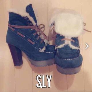 スライ(SLY)のAkichi様お取り置き(ブーツ)