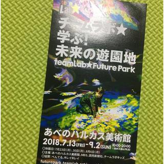 あべのハルカス チームラボ 未来の遊園地☆1枚(遊園地/テーマパーク)