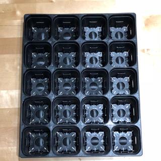 ♡新品♡プレステラ105型♡スリット鉢20個入+トレーのセット♡ (プランター)
