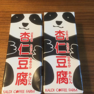 カルディ(KALDI)のカルディ KALDI  パンダ杏仁 杏仁豆腐 2本(菓子/デザート)