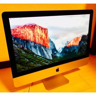 マック(Mac (Apple))のApple iMac (21.5-inch,Late 2015)(デスクトップ型PC)