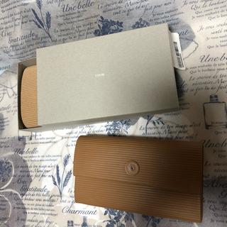 イロセ(i ro se)の週末までお値下げ中☆新品 iroseカードボードレザーロングウォレット(財布)
