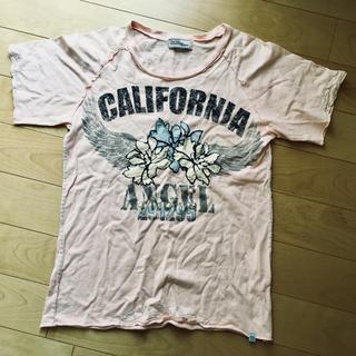 ニーキュウイチニーキュウゴーオム(291295=HOMME)の291295Homme 半袖Tシャツピンク Mサイズ(Tシャツ/カットソー(半袖/袖なし))