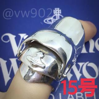 ヴィヴィアンウエストウッド(Vivienne Westwood)のナックルリング S15号(リング(指輪))