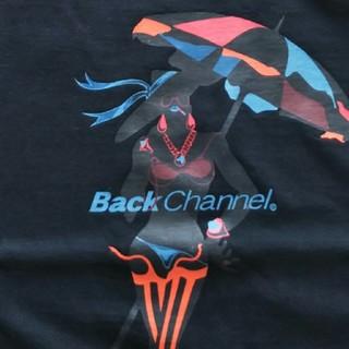 バックチャンネル(Back Channel)のback channel バックチャンネル ガールTシャツ mサイズ(Tシャツ/カットソー(半袖/袖なし))