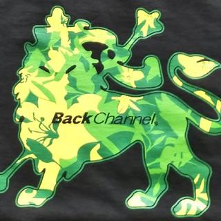バックチャンネル(Back Channel)のback channel バックチャンネル フラワーライオンTシャツ Mサイズ(Tシャツ/カットソー(半袖/袖なし))