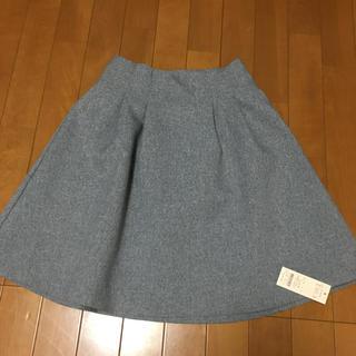 ティティアンドコー(titty&co)のtitty&co.   ボンディングスカート(ひざ丈スカート)
