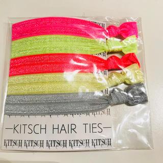 キッチュ(KITSCH)のキッチュ kitsch ヘアゴム 5本セット ♫(ヘアゴム/シュシュ)