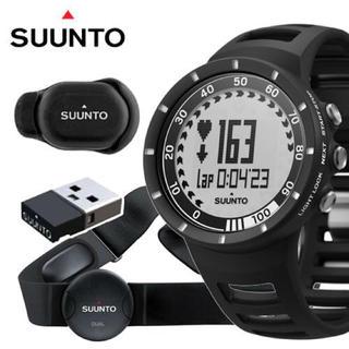 スント(SUUNTO)のSuunto スント クエスト ランニングパック ブラック 心拍計測機能付 新品(その他)