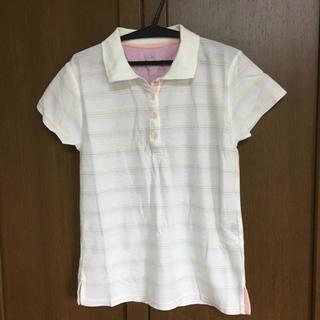シマムラ(しまむら)の【ほぼ未使用!】ボーダー ポロシャツ(ポロシャツ)