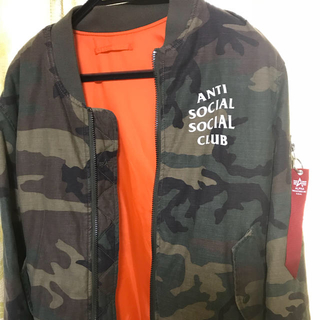 ASSC ALPHA INDUSTRIES MA-1