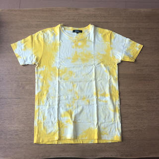 エービーエックス(abx)のabx  エー ビー エックス 染め Tシャツ 3号 イエロー 黄色(Tシャツ/カットソー(半袖/袖なし))