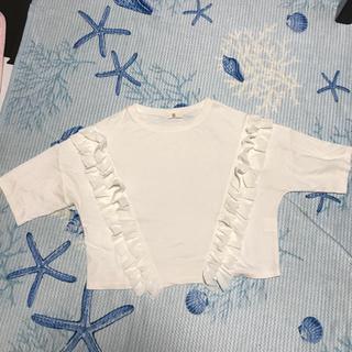 アルピーエス(rps)の【r.p.s】Tシャツ、ボーダー七分袖(Tシャツ/カットソー(半袖/袖なし))