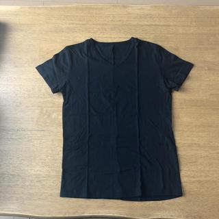 ダブルジェーケー(wjk)のwjk ダブル ジェー ケー Vネック T S ブラック 黒(Tシャツ/カットソー(半袖/袖なし))