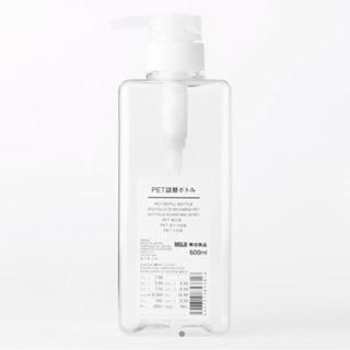 ムジルシリョウヒン(MUJI (無印良品))の無印良品 PET詰替えボトル(日用品/生活雑貨)