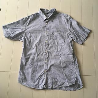ムジルシリョウヒン(MUJI (無印良品))の無印良品 MUJI ストライプ シャツ メンズ S(シャツ)
