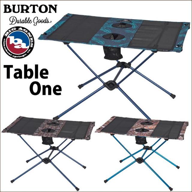 BURTON(バートン)の【限定値下げ】Helinox Burton ヘリノックス バートン テーブルワン スポーツ/アウトドアのアウトドア(テーブル/チェア)の商品写真