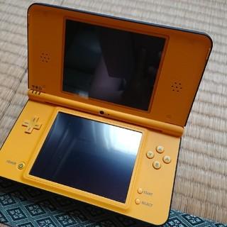 ニンテンドーDS(ニンテンドーDS)の任天堂 DSi LL オレンジ(携帯用ゲーム機本体)