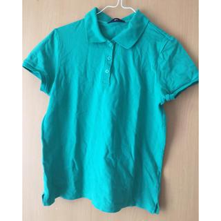 ジーユー(GU)のジーユー ポロシャツ 緑(ポロシャツ)