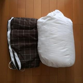 MUJI (無印良品) - 無印良品 こたつ布団 こたつ布団カバー 195×195