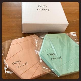 オルビス(ORBIS)のオルビス 珪藻土コースター 2枚セット(キッチン小物)