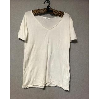 アズール(AZZURE)のアズール☆ニットティシャツ☆M(Tシャツ/カットソー(半袖/袖なし))