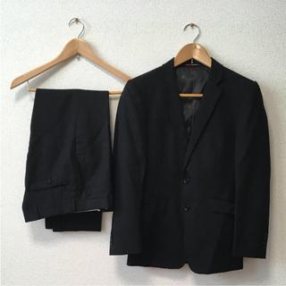 オリヒカ(ORIHICA)のスーツ セットアップ 黒 定番(セットアップ)