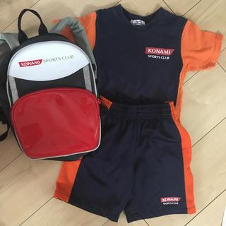 コナミ(KONAMI)のKONAMI コナミ スポーツクラブ リュック 体操服 100(その他)