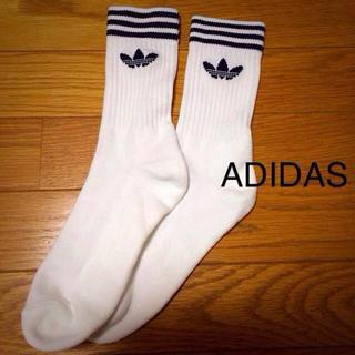 アディダス(adidas)の【取り置き中】adidas ソックス(ソックス)