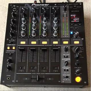 パイオニア(Pioneer)のDJM700(DJミキサー)