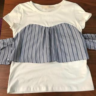 シップスフォーウィメン(SHIPS for women)のTシャツ(Tシャツ(半袖/袖なし))