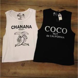 シェル(Cher)のCOCO nut tanktop(Tシャツ(半袖/袖なし))