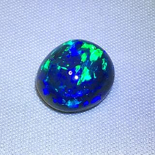 《宝石⚜️ルース》大粒☪️天然ブラックオパール ✳️9.564ct 鑑別付。(リング(指輪))