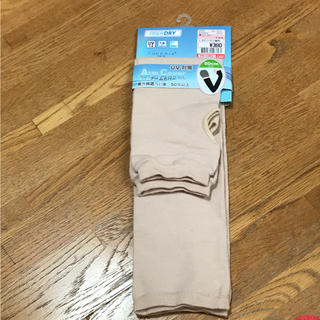 シマムラ(しまむら)のアームカバー UVケア 日焼け対策(手袋)