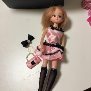 トミー(TOMMY)のリカちゃん ドレス(ぬいぐるみ/人形)