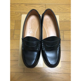 ラルフローレン(Ralph Lauren)のラルフローレン ローファー 黒(ローファー/革靴)