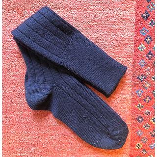 エルメス(Hermes)のフランス  HERMES エルメス カシミア 靴下(ソックス)