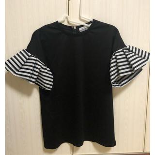 ドゥロワー(Drawer)のBorders At Balcony 新品未使用 Tシャツ(Tシャツ(半袖/袖なし))