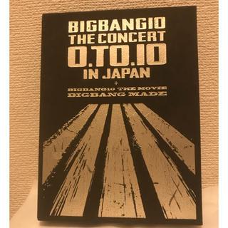 ビッグバン(BIGBANG)のBIGBANG ライブ DVD(K-POP/アジア)