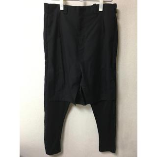 デヴォア(DEVOA)の試着のみ DEVOA PTF-YBN 17SS Layered pants(サルエルパンツ)