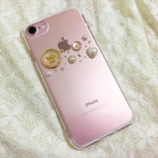 iPhoneケース 木馬×パール(スマホケース)